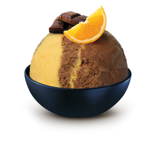 Schöller čokoláda/pomeranč s pomerančovou polevou 50 ml