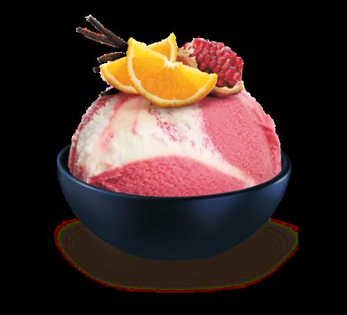 Schöller granátové jablko s pomerančovou polevou 50 ml