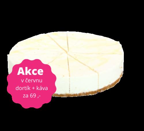 Jemný citronový cheesecake 100 g