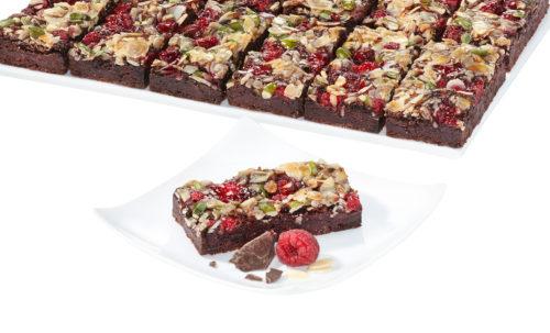 Malinové brownies bez lepku 1050 g