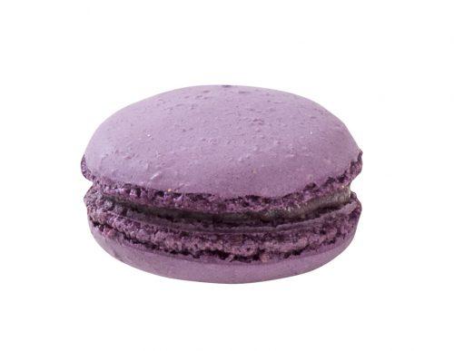 Makronka fialová plněná 16 g