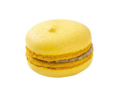 Makronka žlutá plněná 16 g