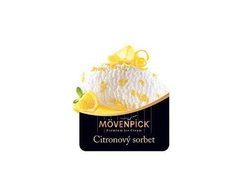 Mövenpick citronový sorbet 50 ml
