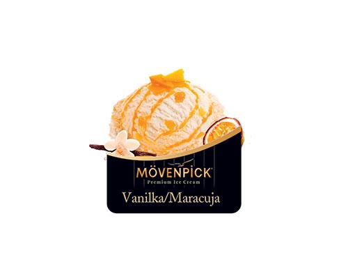 Mövenpick vanilka/maracuja 50 ml