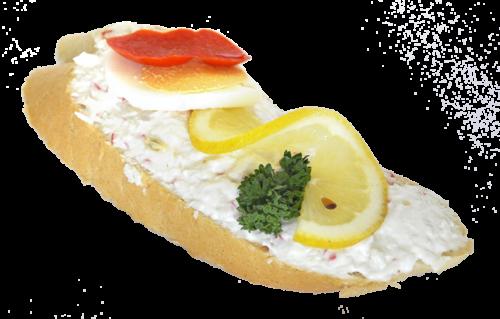 Chlebíček ala krab 95 g
