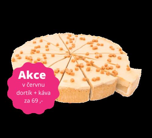 Jablečný cheesecake se slaným karamelem 125 g