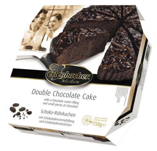 Dvojitý čokoládový dort 750 g