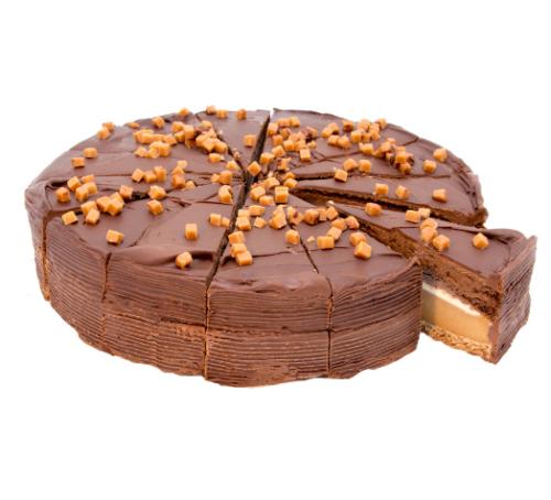 Brownie cheesecake se slaným karamelem 1800 g